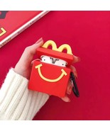 Cute Happy Meal McDonald Cartoon Apple AirPod Case Earphone Charging Cov... - $7.99