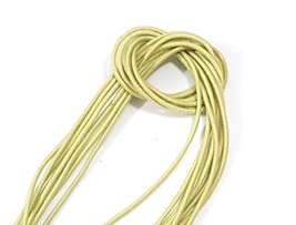 Approx.1.5mm wide 5-10 yds Light Green Yellow Round Elastic Cord Thread ... - $4.99+