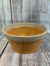 Ceramic Orange Fall Timbleweed Pottery Bowl With Pumpkin Shape Inside - $11.30
