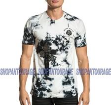 Affliction Cross Of Souls A20104 Short Sleeve Black Label Fashion Men`s T-shirt - $58.50
