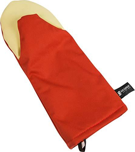 """San Jamar CTP15 Cool Touch Puppet Oven Mitt Heat Protection up to 500° F, 15"""" Le"""