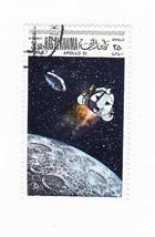 Apollo Xi Ras Al Khaima Stamp 1969 Cancelled - $2.28
