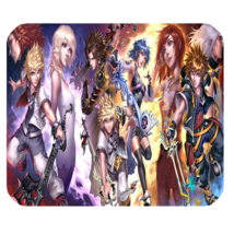 Mouse Pads Kingdom Hearts Beautiful Romantic Heroes Video Game Fantasy M... - $114,51 MXN