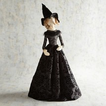 "NWT PIER1 $119 Halloween ELEGANT BLACK WITCH  Sculpture Figurine NWT 36""... - $79.19"