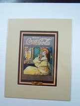 Coca-Cola Reproduction Matted Print - NEW  CC-8  FREE SHIPPING - $7.43