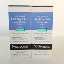 Neutrogena Healthy Skin Anti Wrinkle Cream SPF 15 Lot of 2 Exp 8/22 - $31.88