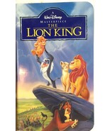 The Lion King VHS, 1995~Masterpiece Collection~2977~RARE~Highly Collectible - $17.32