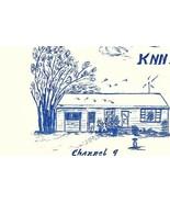 Vintage QSL Postcard  KNN 6511 Bradley, Michigan  Stewart & Eve Meyer   -T- - $22.05