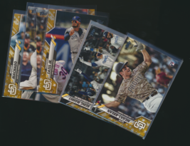 2020 Topps Gold Star Parallel San Diego Padres Team Rookies and Stars - $1.50+