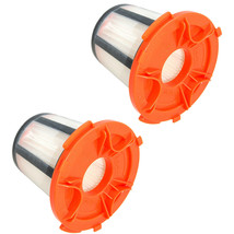 2-Pack HQRP Washable Reusable H12 Filter for Eureka 955 series, DCF-24, ... - $20.93