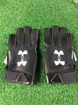 Team Issued Baltimore Ravens Under Armour Spotlight Xl Football Gloves - $19.99