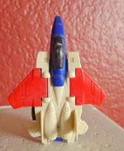 "Tomy Pull N Go Walker F-14 Transformer Airplane 3 1/2"" Japan - $9.41"