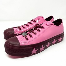 Converse X Miley Cyrus Ctas Lift Ox Women Pink Size 10 - $68.31