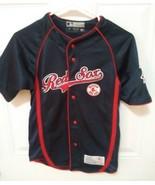 MLB Boston Red Sox Jersey True Fan Series Blue Short Sleeve Youth SM - $19.79