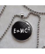E=MC2 Mass Energy Equation Formula Math Einstein Necklace - $14.00+