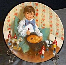 Little Jack Horner Collectible Plate by John McClelland by Reco International Co