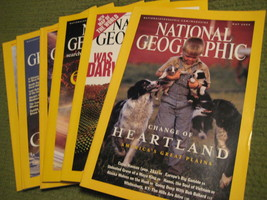 Original Vintage 2004 Lot of 6 NATIONAL GEOGRAPHIC Magazines - $14.43