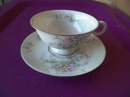 Theodore Haviland cup and saucer (Apple Blossom) 12 available - $12.33