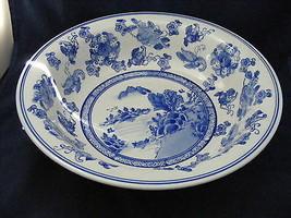 """Large Flow Blue Serving Bowl 13.75"""" x 3.5""""  Mint condition - $29.95"""