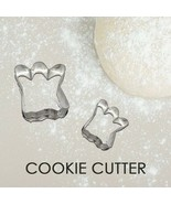 Cookie Cutter Dog Paw Print Pet Tin Plated Pure Biscuit Mold Baking 1pc - $7.55
