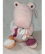 Baby Aspen BA15010PK Pink Plush Rattling Croc In Socks 4 Pair Gift Set 0... - $30.00
