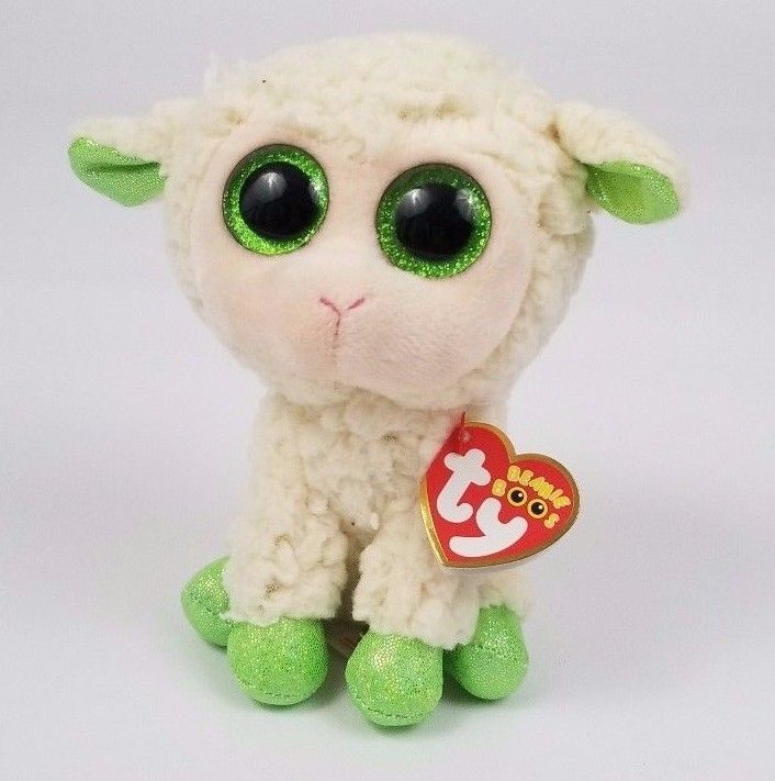 5cb70eb1fd8 Ty LaLa the Lamb Sheep Beanie Boo 6