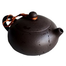 Teapot Chinese Yixing Genuine Black Sand Heijingan Tea Xishi Pots 6.8oz/... - $44.41