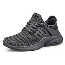 Nyznia Kids Shoes Outdoor Running Hiking Tennis Sneaker for Boys/Girls Grey Size