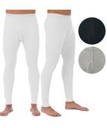 Men's Cotton Waffle Knit Thermal Underwear Pajama Stretch Sleepwear Pants - $13.95