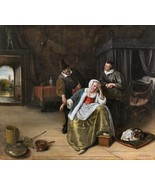 The Lovesick Maiden by Jan Steen ca.1660 Dutch Old Masters 11x12 Art Print - $29.69