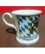 """GERZ KONIGLICH BAYERISCHES KAFFEEHAFERL PORCELAIN CRESTED CUP/MUG  3 7/8""""  - $17.45"""