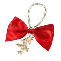 Disney Store Maison de FLEUR Minnie Mouse Red Ribbon Bag Charm Minnie Dots - $54.45
