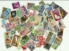 World, Kiloware, Collection lot of 100+ different Worldwide stamps - $1.71