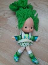 "Vintage Patty O Green Strawberry Shortcake Doll Plush 1983 Hallmark 10"" ... - $19.75"