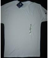 Champion Classic White T-Shirt Cotton Crewneck Embroidered Logo Short Sl... - $9.85