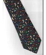 Save the Children Collection Neck Tie silk charity artist Adina  novelty... - $24.77