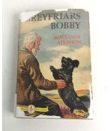 Greyfriars Bobby Grosset & Dunlap 50s HC DJ Famous Dog Stories 1940 - $32.99