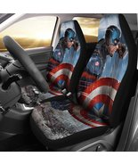 Captain America (2 Styles) - Car Seat Covers (2pc Set) - $79.99+