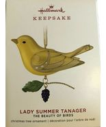 Hallmark 2019 Lady Summer Tanager The Beauty Of Birds Limited Special Ed... - $34.99