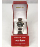 Peugeot - 115 Silver-tone Stainless Steel Watch - New In Box - $59.95