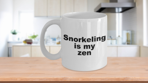 Snorkeling Mug - Is My Zen Coffee Cup