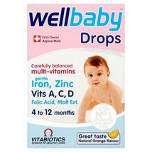 Vitabiotics Wellbaby Multi-Vitamin Drops 30ml 4-12 Mnths - $9.10