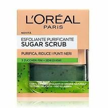 L'Oréal Paris Sugar Scrub Esfoliante Purificante Viso & Labbra con Crist... - $20.34