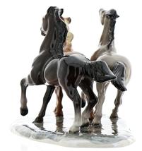 Hagen-Renaker Specialties Ceramic Horse Figurine Wild Mustangs on Base image 7
