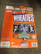 Orig 1997 Wheaties ALL STAR OUTFIELDERS Griffey/Bonds/Gwynn Cereal Box (... - $7.91