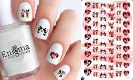 Mickey & Minnie Love Nail Decals (Set of 54) - $4.95