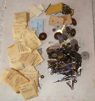 Primary image for Vintage Watch Parts Lot Westclox + More