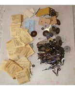 Vintage Watch Parts Lot Westclox + More - $38.99