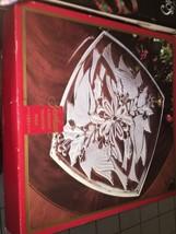 """Vintage Gorham 13"""" Cardinal Square Chrystal Platter - $25.48"""