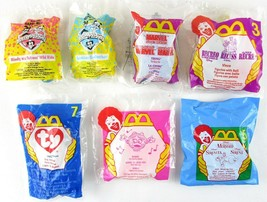 Lot of 7 UNOPENED McDonalds Happy Meal Promotional Toys, 1990's - $13.99